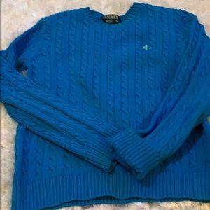 RL cotton knit sweater